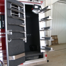 Electric Swing Out Saddle Rack